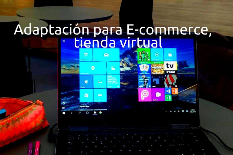 adaptación ecommerce tienda virtual