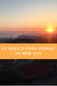 lo básico para lograr tu pagina web