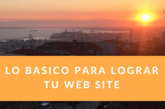 Aprendiendo lo básico para lograr tu Página Web